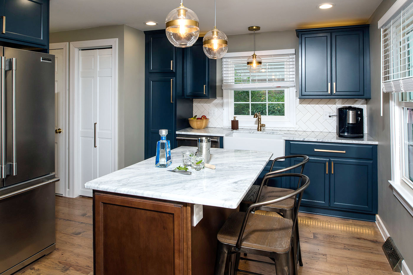 A Modern Take on a Country Kitchen Amherst NY