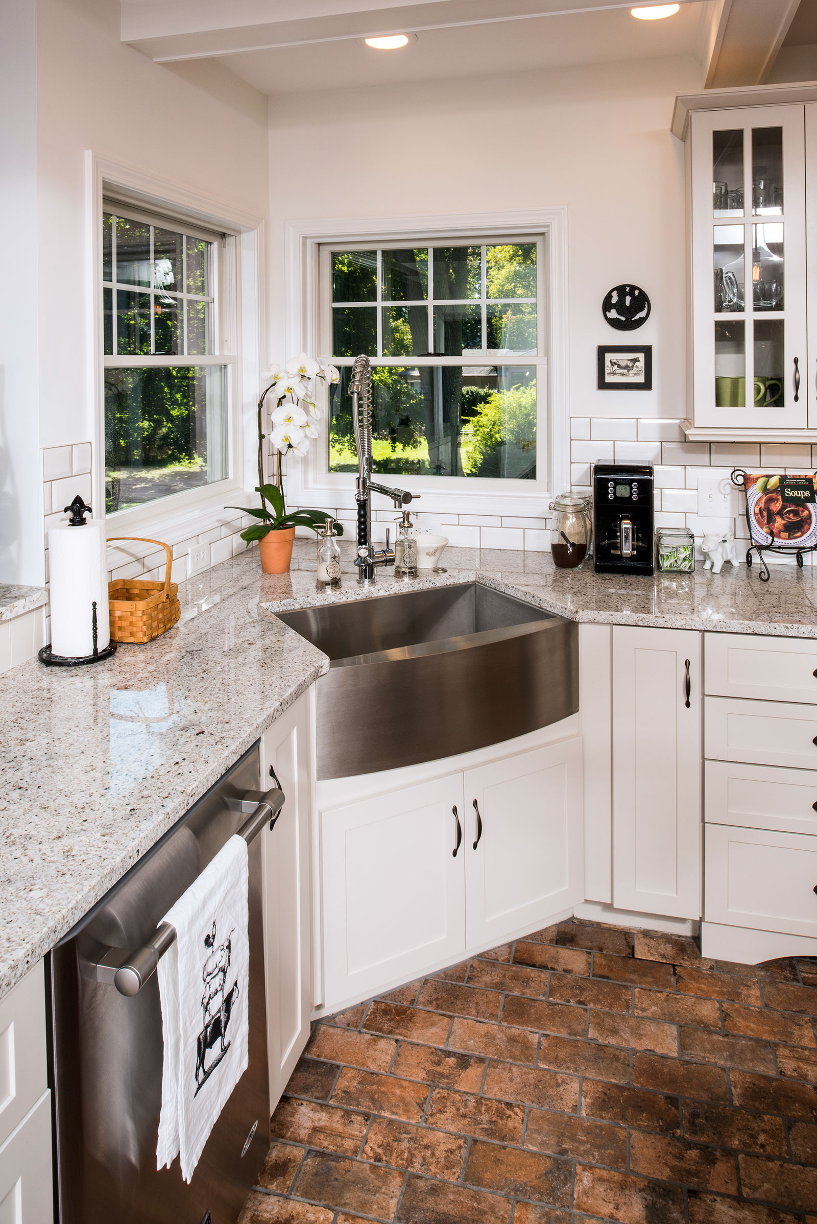 Traditional Kitchen with a Rustic Flare – Artisan Kitchens & Baths