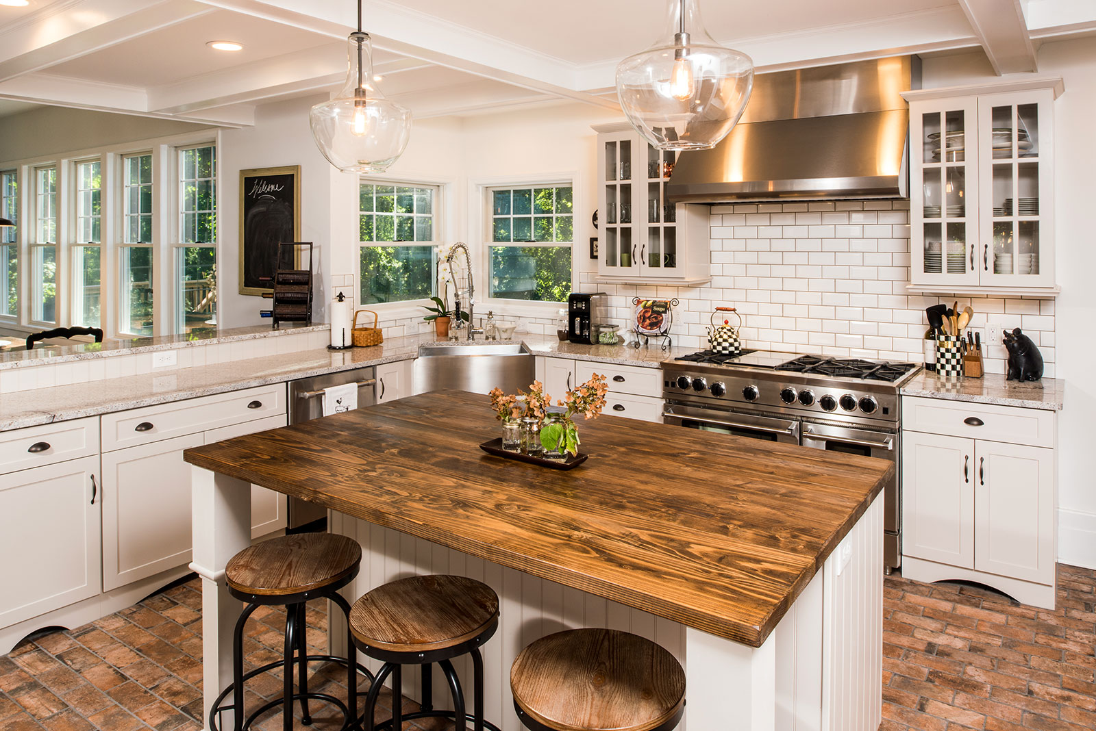 Traditional Kitchen With A Rustic Flare Buffalo NY