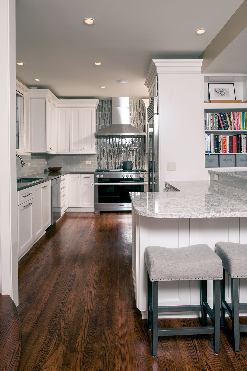 Other Projects. Sleek Professional Kitchen With A Modern Flare