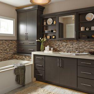 Buffalo NY Bathroom Kemper Cabinets